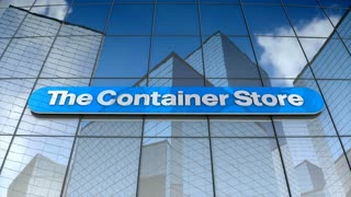 Editorial, The Container Store Group, Inc. logo on glass building.