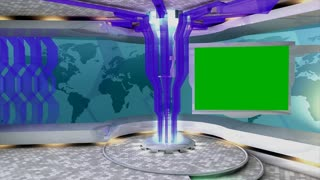 Virtual set/studio. tv, online, internet, background