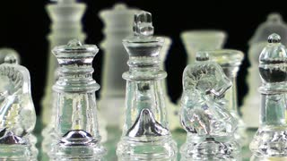 Chess Made By Glass