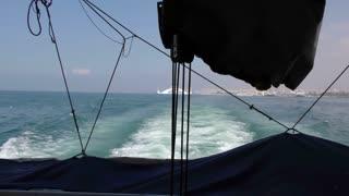The Sea inside Ferryboat