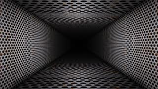Urban Abstract Metal Room Corridor Loop
