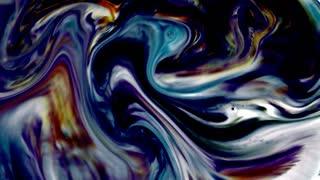 Abstract Art Ink Paint Blast Explode Turbulence