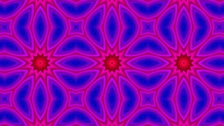 Abstract Colorful Hypnotic Symmetric Pattern Ornamental Decorative Kaleidoscope Movement Geometric Circle And Star Shapes 8