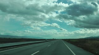 Landscape Inside The Car