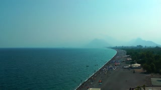 The Beach in Antalya Turkey