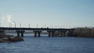Traffic on the bridge, Time Lapse