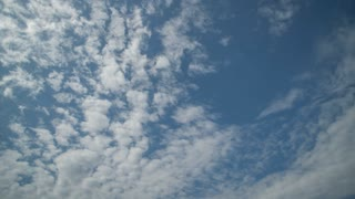Intensive movement of clouds from the camera, a sunny day. In high resolution and high quality. Time laps does not have birds and foreign objects. Easy color correction prores 4444