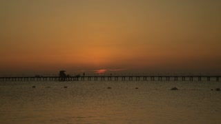 Sunrise at the sea time laps. High quality 10bit footage. Very easy color correction