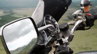 Using smart phone with motorcycle