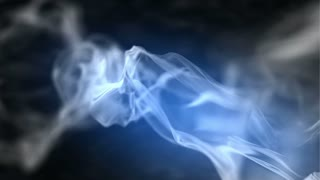 Abstract Smoke animation