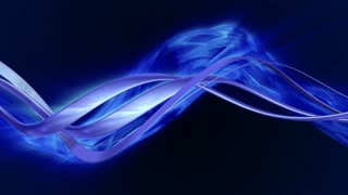 Animated curve with blue flame on back Seamlessly loopable animation