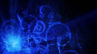 Blue grunge motion background