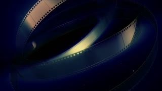 Film reel motion background