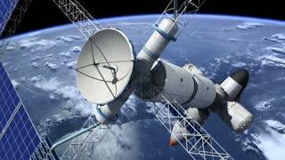 Orbital space station