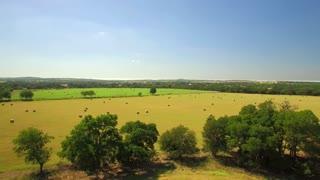 Aerial view of San Antonio farmland on a sunny day 2