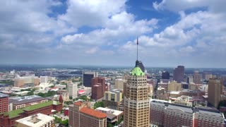 Aerial view of San Antonio skyline 6