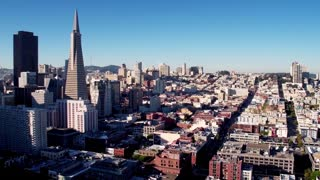 Aerial view of San Francisco cityscape 4