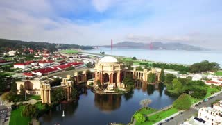 Aerial view of San Francisco Palace of Fine Arts Theatre 4
