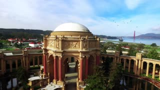 Aerial view of San Francisco Palace of Fine Arts Theatre 6