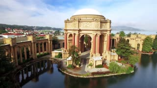 Aerial view of San Francisco Palace of Fine Arts Theatre 8