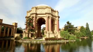 Aerial view of San Francisco Palace of Fine Arts Theatre 9