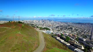 Aerial view of Twin Peaks San Francisco 4