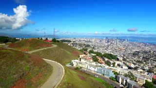 Aerial view of Twin Peaks San Francisco 5