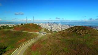 Aerial view of Twin Peaks San Francisco 6