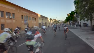 Beginning of bike race in San Diego 2