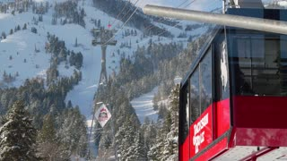 Close up of Jackson Hole ski lift 3