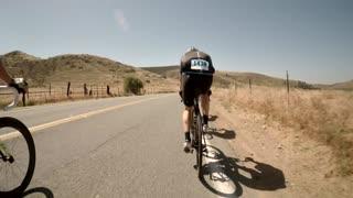 San Diego bike race pov 2