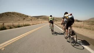 San Diego bike race pov