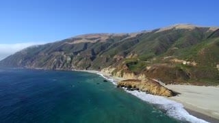 Beach and Coastline at Big Sur