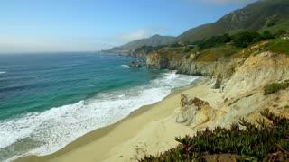 Big Sur Coastline and Beach