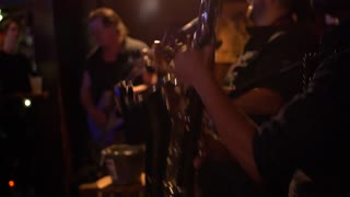 Bourbon Street Band Playing in Bar