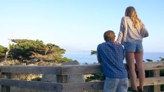 Couple at Lone Cypress at Pebble Beach