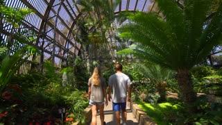 Couple of in the Botanical Garden at Balboa Park