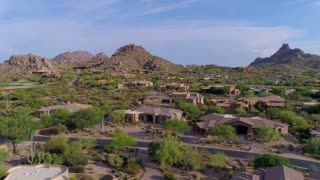 Desert Neighborhood with Rock Features