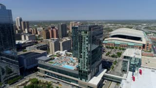 Downtown Houston by Aerial Drone