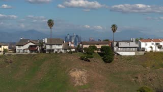 Downtown LA by Aerial Drone