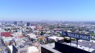 Downtown Los Angeles by Aerial Drone