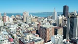 Downtown San Francisco and Bay