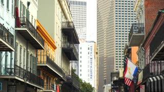 French Quarter Architecture, Hotels, Restaurants, Buildings