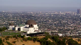 Griffith Observatory with Downtown Los Angeles in the Background
