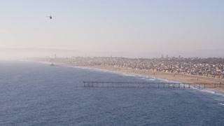 Helicopter over Redondo Beach