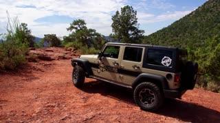 Jeep Wrangler Off Road in Sedona