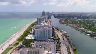 Miami Beach by Aerial Drone