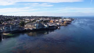 Monterey Bay by Aerial Drone