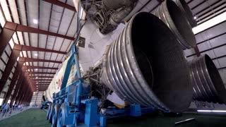Nasa Rocket Tracking Detail Shot