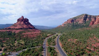 Red and Green Cliffs in Sedona